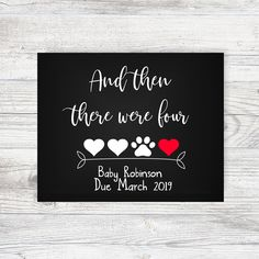 45 Ideas Baby Announcement Chalkboard Dog Pregnancy For 2019 Baby Boy Nursery Themes, Baby Boy Nurseries, Sonogram Pictures, Pregnant Dog, New Baby Announcements, Congratulations Baby, Baby Dogs, Baby Baby, Baby Girls
