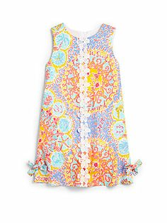 Flower girl idea--- Lilly Pulitzer Kids Toddler's & Little Girl's Little Lilly Follow The Sun Shift Dress