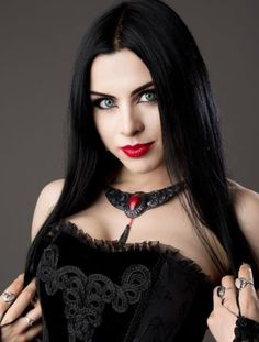 Goth Beauty, Dark Beauty, Hot Goth Girls, Goth Women, Scene Girls, Brunette Beauty, Just Girl Things, Gothic Outfits, Witches