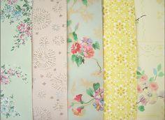 vintage floral wallpapers