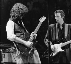just Page and Clapton ...