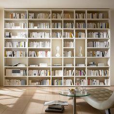 Wohnwand Bücherregal TOLEO238 weiß lackiert Jetzt bestellen unter: https://moebel.ladendirekt.de/wohnzimmer/schraenke/wohnwaende/?uid=7ac2362c-02d1-50aa-a926-8720f02c1350&utm_source=pinterest&utm_medium=pin&utm_campaign=boards #schraenke #wohnzimmer #wohnwaende