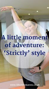 If you were challenged to tick something off your bucket list, what would you do? Here's my little moment of adventure, 'Strictly' style.  http://www.lifestylemaven.co.uk/a-little-moment-of-adventure-strictly-style/