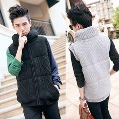 Popular Men's Cotton Sweater