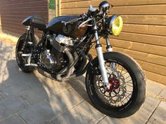 my bike the Honda cb750 café