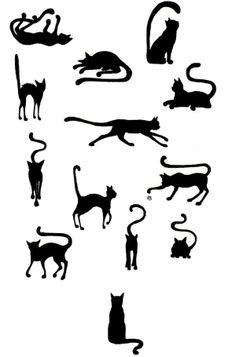 cat tattoo ideia