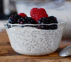 How to make Chia Seed Pudding - healthy but tastes like dessert!