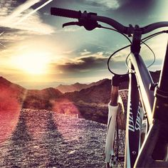Biking in the Arizona desert