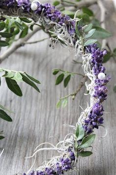 ♔ Lavender Wreath