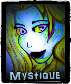 Mystique from X-Men, Poster size on Sale for $10.99
