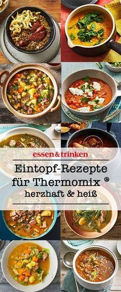 Easy to prepare, extremely tasty: hot stew from the thermo .- Easy to prepare, extremely tasty: hot stew from the Thermomix ®. Here& & # s many delicious recipes from the Thermomix® with vegetables, meat, fish and more! Easy Smoothie Recipes, Easy Healthy Recipes, Meat Recipes, Healthy Snacks, Vegetarian Recipes, Easy Meals, Dinner Recipes, Delicious Recipes, Guisado