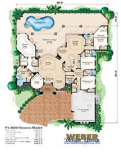 Sirocco House Plan - Weber Design Group