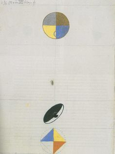 Series No. VII, No. by hilma-af-klint Abstract Painters, Abstract Art, The Drawing Center, Hilma Af Klint, Agnes Martin, Converse, Constructivism, Funny Drawings, True Art