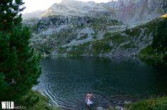 Stellune's lake, Italy.