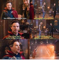 You just have to love that not even Dr. Strange wanted to take on Loki. Lol.