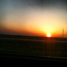 Southern Illinois sunset