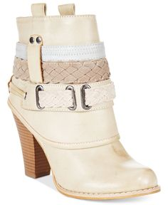 Pair Dolce by Mojo Moxy's Brigade booties with your favorite, flirty skirt for a…