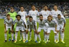 Real Madrid 2013-2014 Best Football Team, National Football Teams, Football Soccer, Real Madrid 2014, Soccer Pictures, Great Team, Fc Barcelona, Cristiano Ronaldo, Spanish