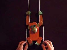 Paper Woodpecker Toy - YouTube