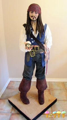 Captain Jack Sparrow Cake by Lara Clarke