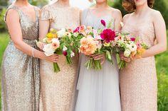 Metallic bridesmaids dresses by Sorella Vita available at Bucci's Bridal in Pewaukee, WI   www.buccisbridal.com.  Photography by @maisonmeredith. #metallicdresses #sequindresses #golddresses #bridesmaidsdresses #mothersdresses #newyearseve #specialoccasiondresses #glitterdresses #bridalshop #marriedinmke #wibride #weddinginspiration #wiwedding