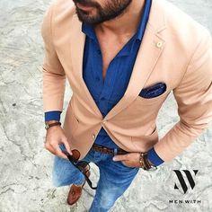 """#menwithclass"""" #Blue #Beige"""
