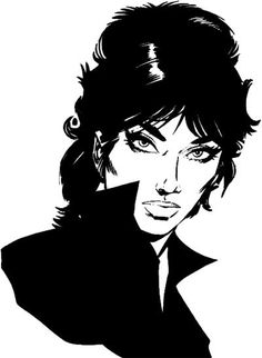 Modesty Blaise. (Why aren't there any films in the making? Box office gold, surely.) #modestyblaise