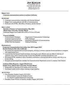 Sample Resume Corporate Communications   Http://exampleresumecv.org/sample  Resume