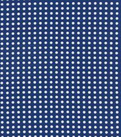 Upholstery Fabric-Waverly Button Up Indigo