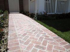 Brick pattern walkway in Orange, Ca.   Yelp