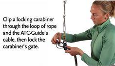 How To Video: Black Diamond Equipment's ATC-Guide