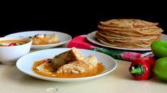 Maďarské hortobáďské palačinky skuřecím masem - Proženy Thai Red Curry, Pancakes, Tacos, Mexican, Breakfast, Ethnic Recipes, Food, Morning Coffee, Essen