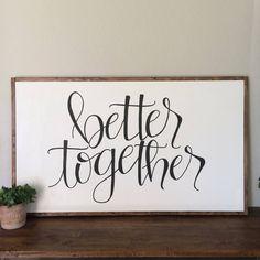 better together by inourlittleredhouse on Etsy https://www.etsy.com/listing/510567540/better-together