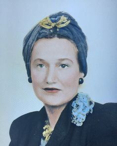 Edith Ewing Bouvier Beale in 1938 wearing the iconic Grey Gardens® brooch. A must have! Available exclusively at www.greygardensofficial.com