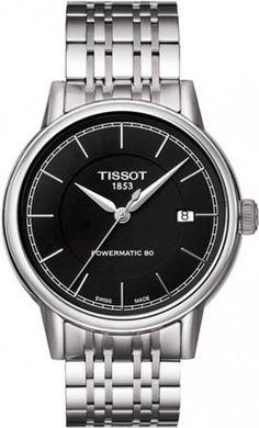 T085.407.11.051.00, T0854071105100, Tissot carson powermatic watch, mens