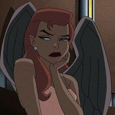hawkgirl and cartoon image Cartoon Icons, Cartoon Memes, Girl Cartoon, Cartoon Art, Cute Cartoon, Angel Cartoon, 90s Cartoons, Cartoon Drawings, Cartoon Characters