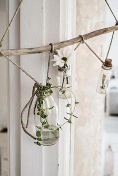 diy / suspension florale facile à réaliser / foto: line kay