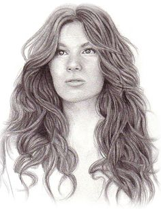 Drawing Hair in Pencil - This is a great tutorial!