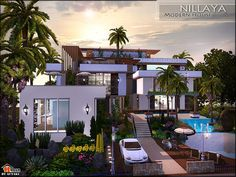 Nillaya Modern by Autaki  http://www.thesimsresource.com/downloads/1169621