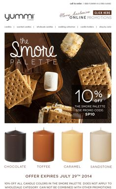 10% OFF The Smore Palette! Use Promo Code SP10 At Checkout