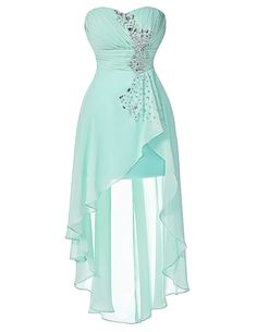 Women Short Cocktail Dress Party Formal Evening Ball Prom Dress Wedding Gown New Pretty Prom Dresses, Prom Party Dresses, Formal Evening Dresses, Homecoming Dresses, Dress Party, High Low Bridesmaid Dresses, Turquoise Bridesmaid Dresses, Looks Kawaii, Cocktail Dress Prom
