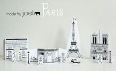 Paper City Paris...free printables from Made By Joel
