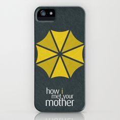 How I Met Your Mother - Minimalist Poster 01 iPhone & iPod Case by Misery - $35.00