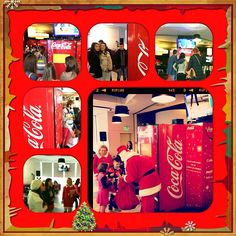 Automatul de colinde Coca-Cola Coca Cola, Beverages, Drinks, Coco, Events, Canning, Drinking, Coke, Drink