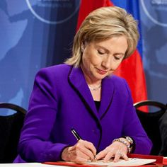 Hillary Clinton. I can't help but love her. Madame President has a beautiful ring to it. Yes, Hillary Clinton for President! She needs to be our first female president. Do it for me, Hillary!