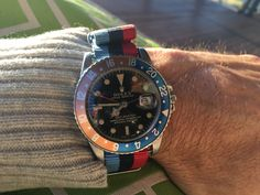 Rolex GMT gilt gloss dial