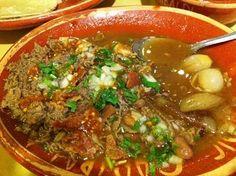Comida mexicana - Carne en su jugo