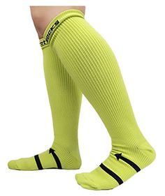 Compression Support Socks for Men  Women AILIZI Recovery  Performance Sports Compression Socks  Neon Green * Want to know more, click on the image.Note:It is affiliate link to Amazon. #SportAccessories