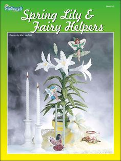 Plastic Canvas - e-Pattern Leaflets & Trios - Spring Lily & Fairy Helpers