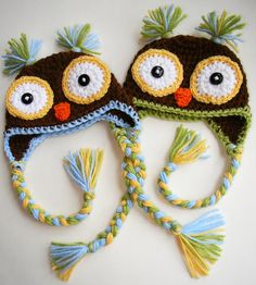 Owl hats inspiration